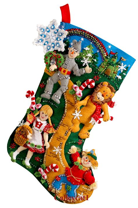 bucilla christmas wizard of oz 18 quot bucilla felt kit 86200 fth studio international