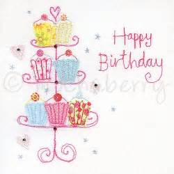 birthday cupcake card this delightful happy birthday cupcake card