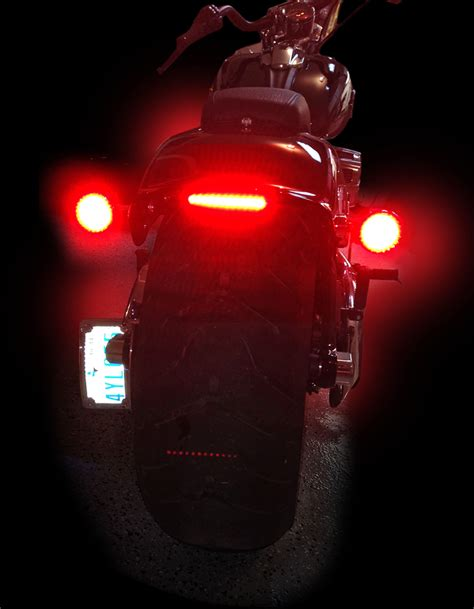 Custom Led Light Bars Custom Dynamics Led Light Bar 13 16 Harley Breakout Fxsb Fxsbe Ebay