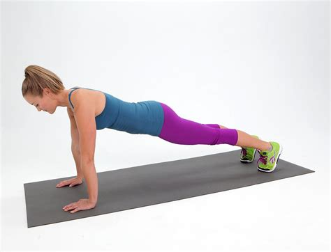 plank challenge exercise plank workout the two week plank challenge popsugar