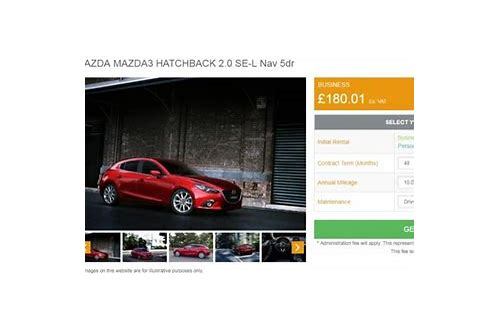 mazda lease deals uk