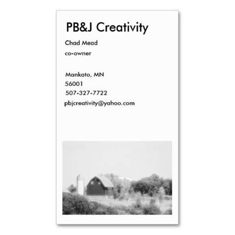 farm business cards templates vintage farm business card