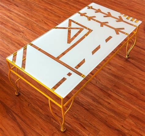 Spray Paint Coffee Table 17 Best Images About Coffee Table On Pinterest Chrome Finish Sofa End Tables And Lounge Areas