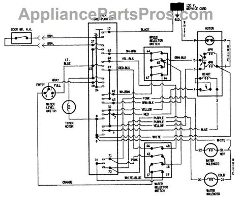 wiring diagram for hoover washing machine k