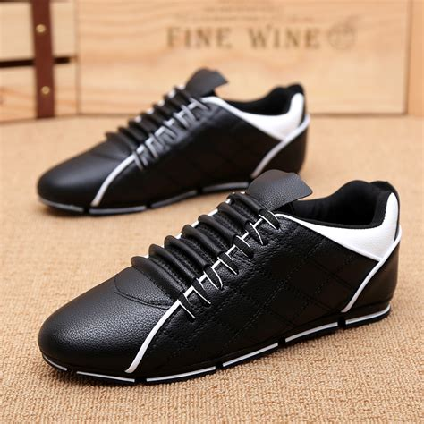 stylish running shoes mens cheap new simple and stylish spell color absorb sweat