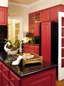 kitchen with red cabinets faith and pearl red farmhouse kitchen