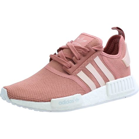 adidas originals nmdr  raw pink mesh trainers shoes