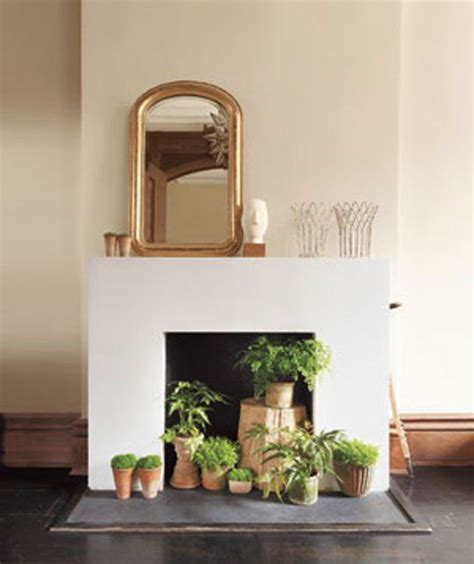 10 decorative ideas for non working fireplaces tidbits twine