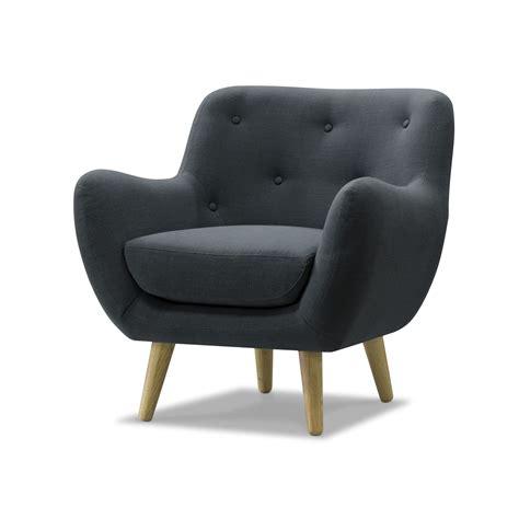 fauteuil seventies fauteuil esprit seventies en tissu gris gris poppy meuble fauteuils fauteuils et poufs
