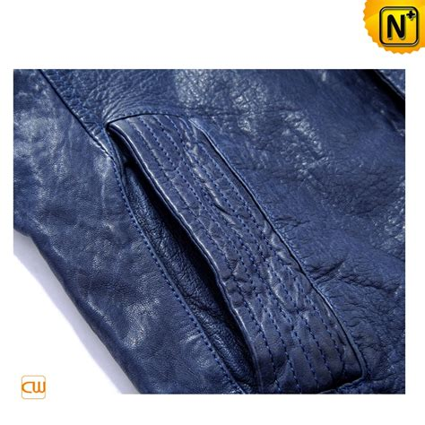 blue motorcycle jacket mens blue motorcycle leather jackets cw813087
