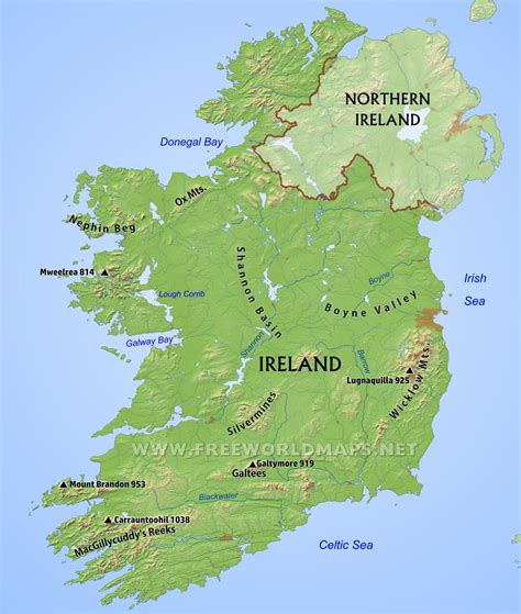Search Free Ireland Map Of Ireland