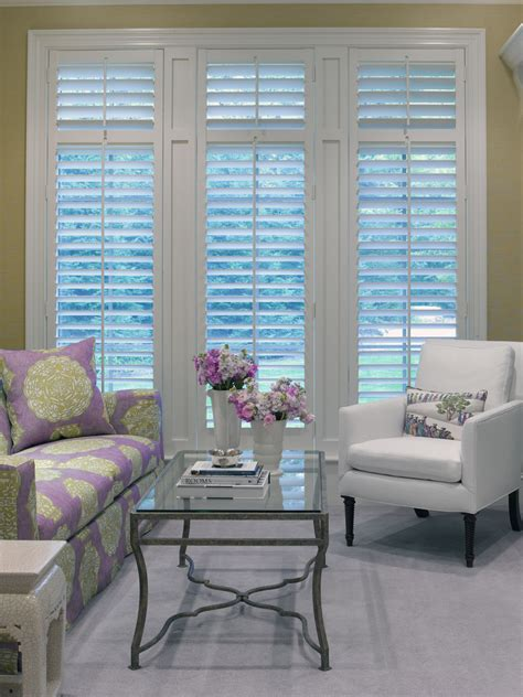 living room shutters shutters vs blinds dining room mediterranean with armoire