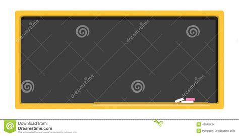 vector board layout empty blackboard school board in a flat design stock