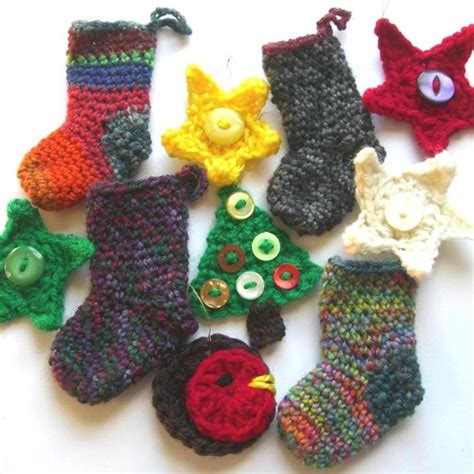 christmas decoration crochet patterns at folksy com nestify