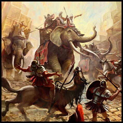 le elefant where did hannibal get elephants for his battles