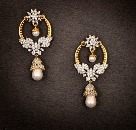 design clothes jewelry games buy gold diamond chand bali earrings online