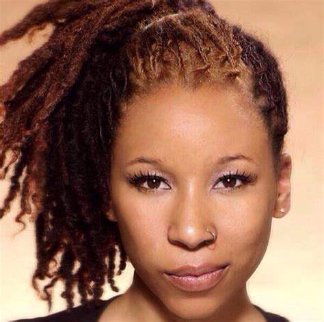 beginner dread styles for women 243 best images about lockology colored locs dreadlocks