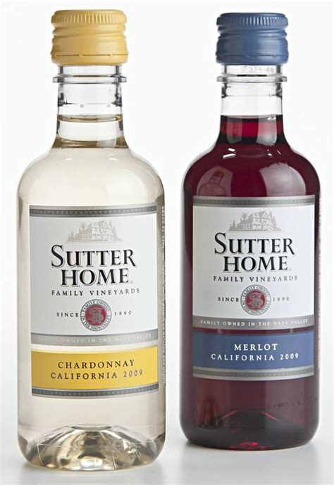 Sutter Home Mini Bottles by Sutter Home S Market Leadership In 187 Ml Wines Is Aided