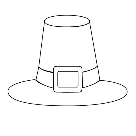 pilgrim hat picture pilgrim hat coloring page