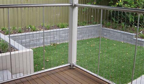 sichtschutz terrasse glas 304 edelstahl drahtseil zaun kabel gel 228 nder