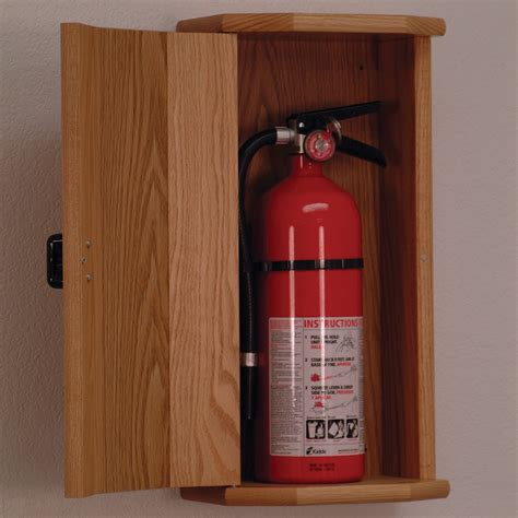 Cabinet Mallet by Wooden Mallet Oak Extinguisher Cabinets