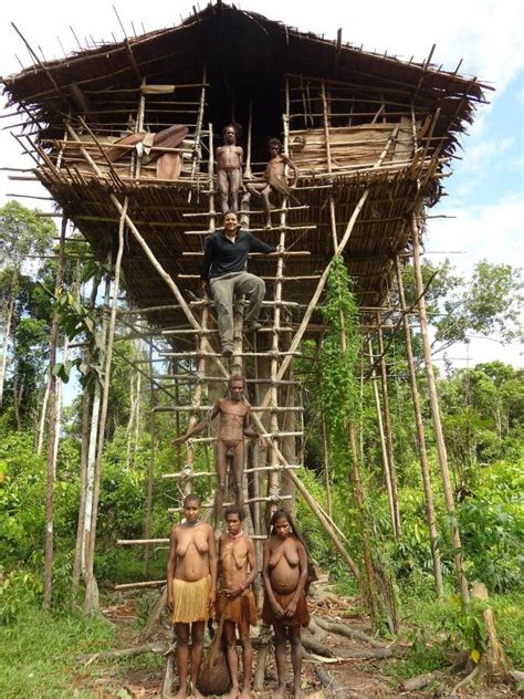 korowai tree houses adventure into korowai trek papua