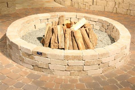 pavestone pit whiz q s pavestone firepit traditional patio dallas