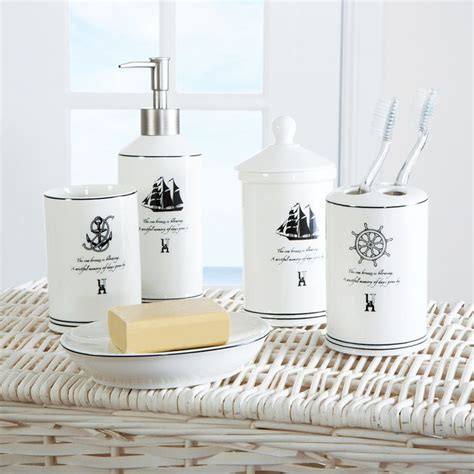 1000 ideas about nautical bathroom accessories on