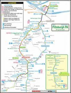 pittsburgh pa light rail system