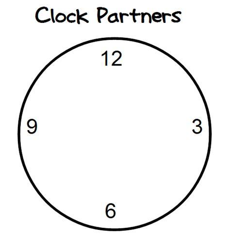 printable clock partners math love big hits of late