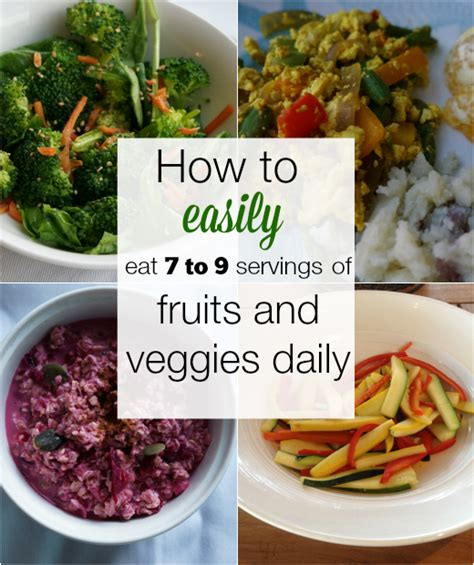 9 cups vegetables how to eat more vegetables for weight loss and health