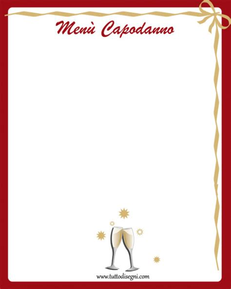 cornici per menu tutto disegni disegni da colorare biglietti auguri