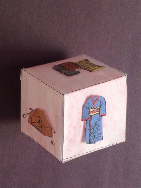 bible craft for achan story cube craft this craft will help you prepare