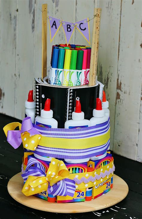 butlers school supply cake