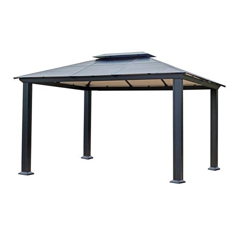 patio gazebo home depot patio gazebos patio accessories patio furniture the