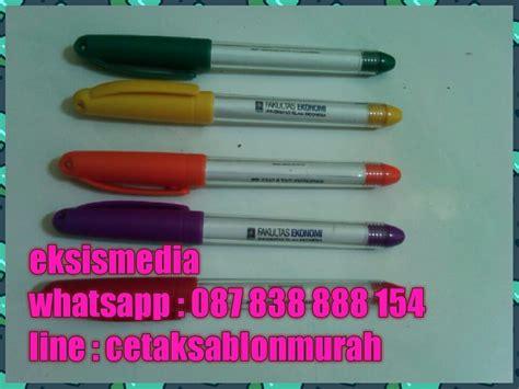 cetak sablon murah jual pulpen murah  kota gorontalo