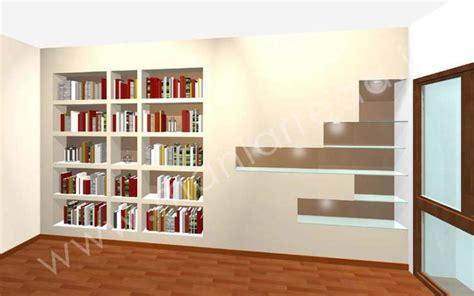 librerie di cartongesso render librerie cartongesso