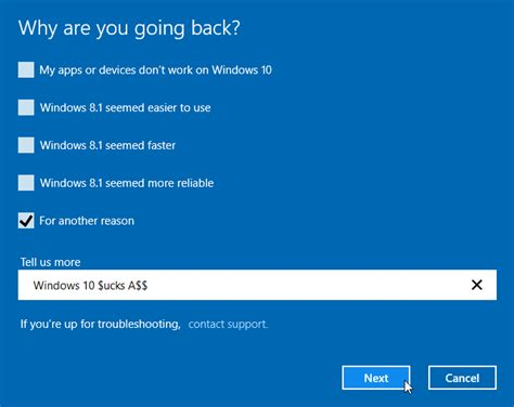 uninstall windows 10 and reinstall 7 uninstall windows 10 and revert to previous windows