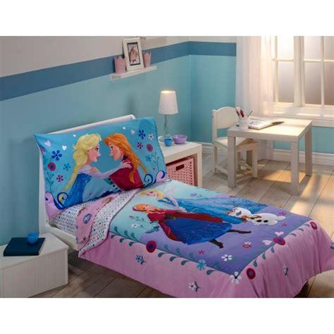 Disney Frozen 4 Piece Toddler Bed Set Multicolor Target Disney Toddler Bed Set