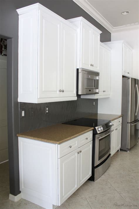 kendall charcoal kitchen cabinets how i transformed my kitchen with paint benjamin