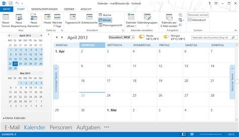 Calendar In Outlook 2013 Microsoft Office 2013 Was Das Neue Outlook Besser Macht