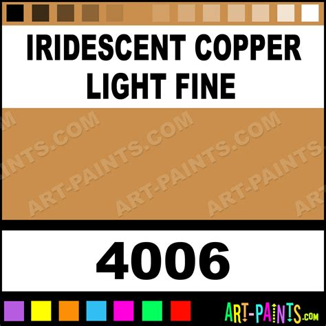 iridescent copper light iridescent metal paints and metallic paints 4006 iridescent