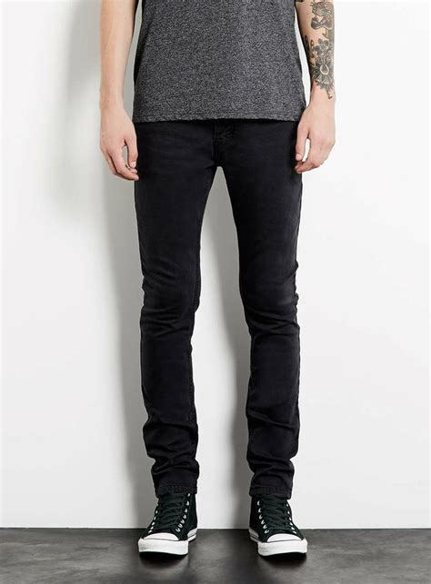 skinny jeans black mens washed black stretch skinny jeans men s jeans clothing