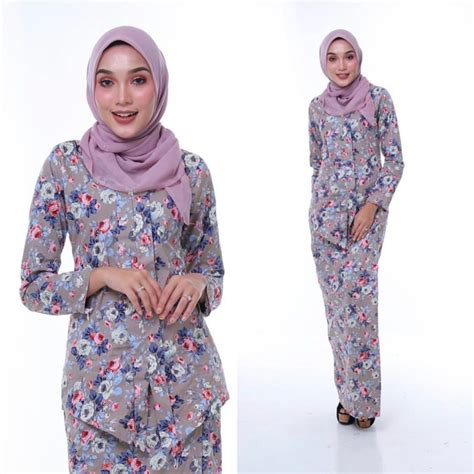 New Kebaya by New Kebaya 100 Cotton Kebaya Singkat Cik Kuntum