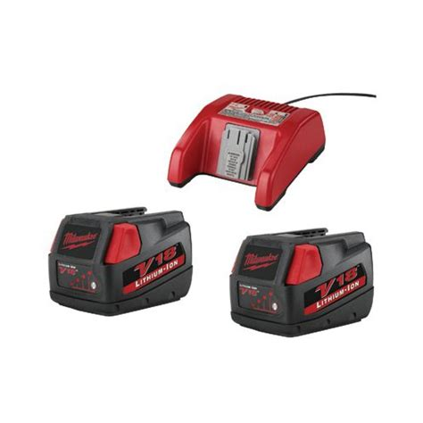 Lighter V18 milwaukee electric tools v18 lithium ion batteries charger