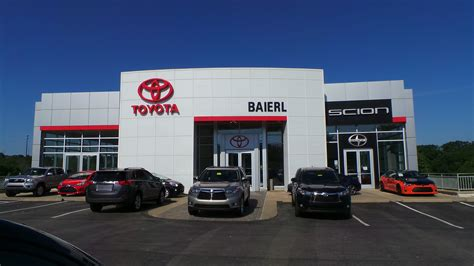 toyota dealer toyota dealership cranberry twp pa used cars baierl toyota