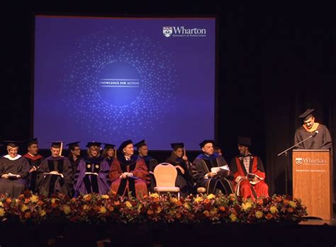 Wharton Mba Graduation 2018 by Inder Sidhu At The 2013 Wharton Commencement