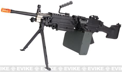 a amp k full metal m249 mk ii saw airsoft aeg w electric drum