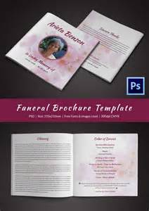 funeral brochure template 31 funeral program templates free word pdf psd
