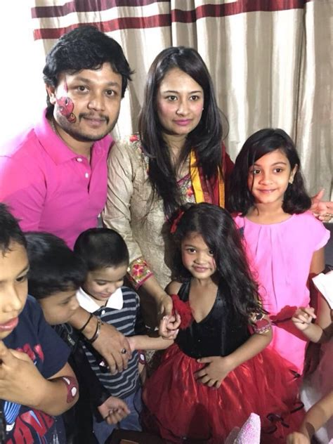 actor ganesh daughter kannada actor ganesh and his wife shilpa celebrate their